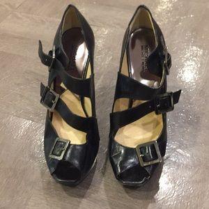 Michael Kors triple strap heels